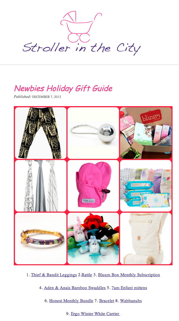 Winter Edition Carrier Featured on Holiday Guide ...