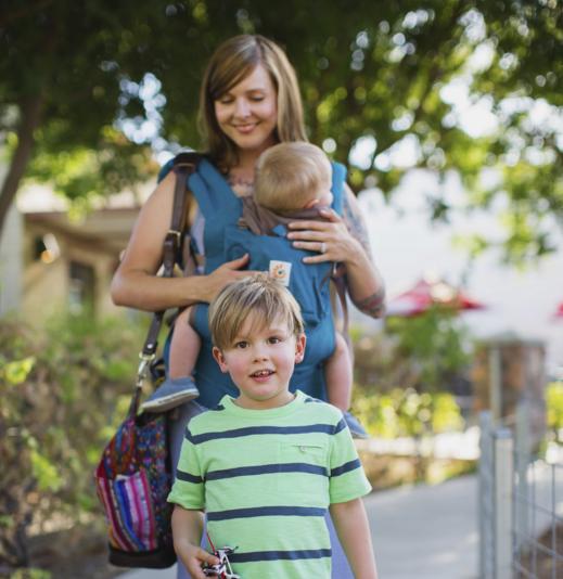 Babywearing Chasing Toddlers Being Productive Ergobaby Blog